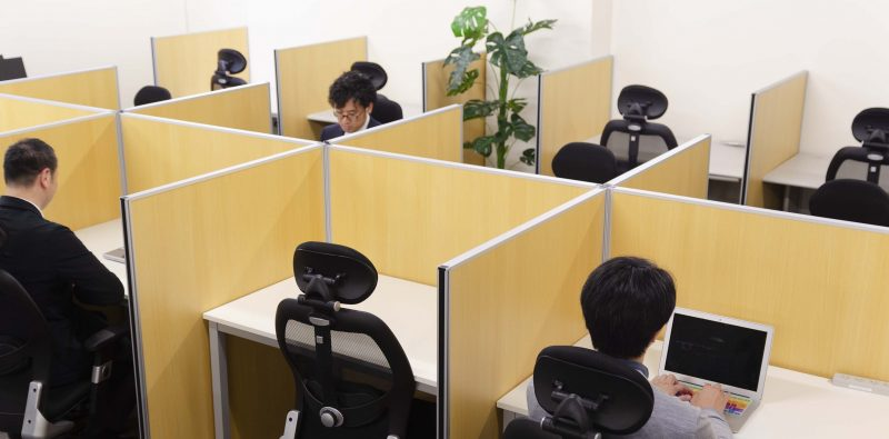 表参道のシェアオフィスABBOCC(アボック)の仕事に集中できる環境
