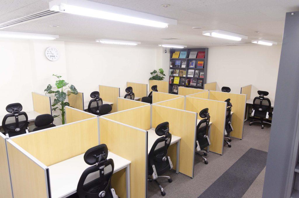 シェアオフィスABBOCC表参道のスペース内